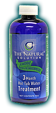 3 month Natural Solution Hot Tub Enzymes